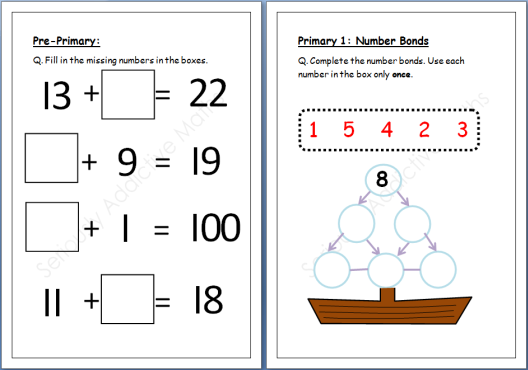 Primary 1 Math Yourhelpfulelf – Primary 4 Maths Worksheets