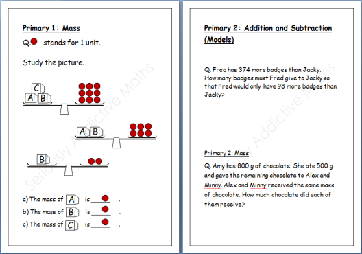 Are you Serious About Preparing Your Child for Singapore Math – P3 Maths Worksheets