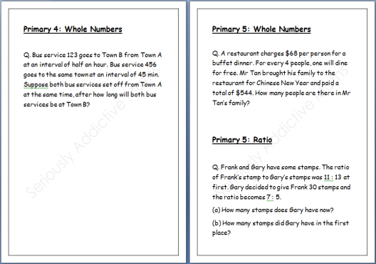 Primary 6 Maths Worksheets free preschool kindergarten simple – Primary 4 Maths Worksheets