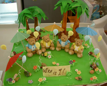 childrens birthday cakes kiasuparents - Garden Design Birthday Cake