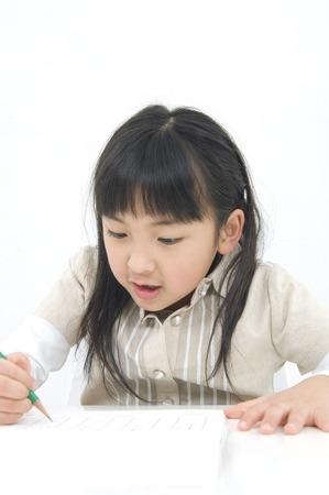 43244251 - girl studying