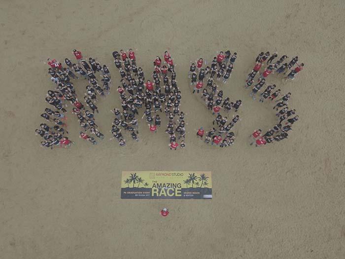 RMSS amazing race event