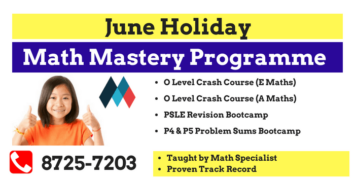 Math June Holiday