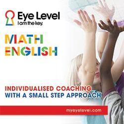 eye level