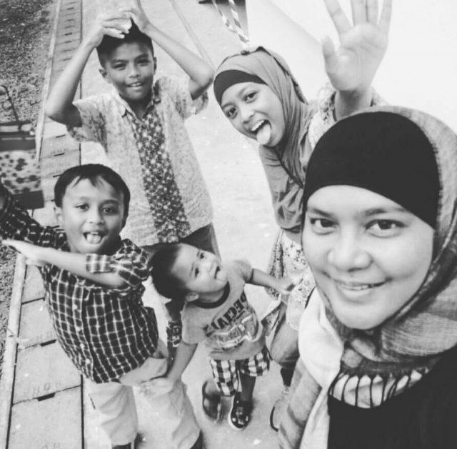 Mdm Mas and Children
