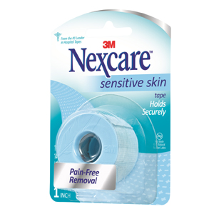 SLT-1 Nexcare Sensitive Skin tape