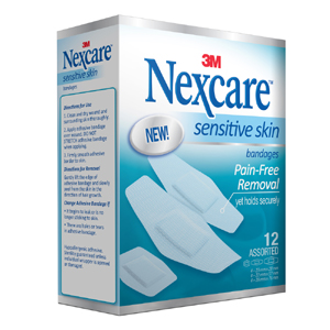 SSB12 - Nexcare Sensitive Skin 12s