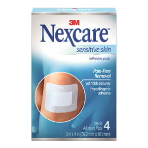 SSD34 Sensitive Skin Adhesive Pads_FRNT
