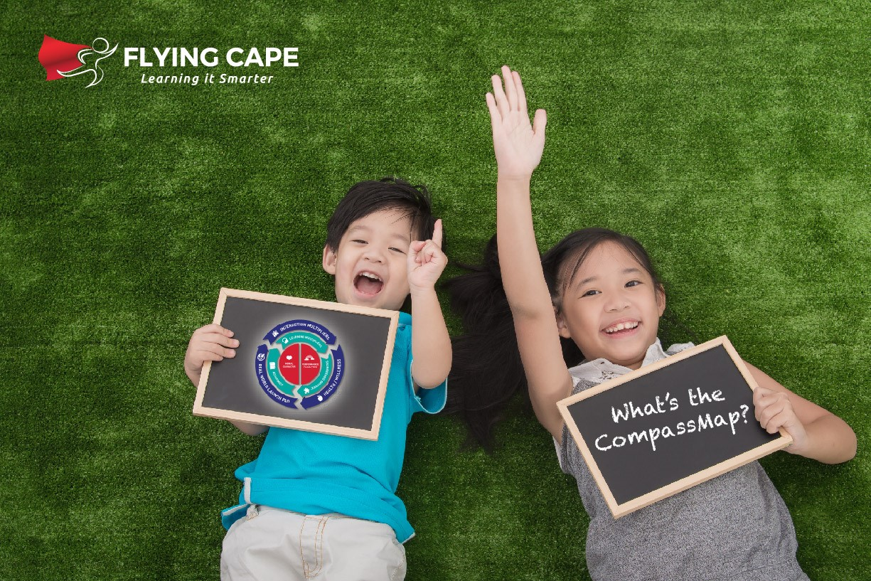 Flying Cape Compass Map