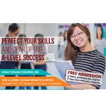 One-Day Crash Course on Integration and Vectors - Two Hottest Topics in A-Level H2 Mathematics [FREE Admission] @ Scape | Singapore | Singapore