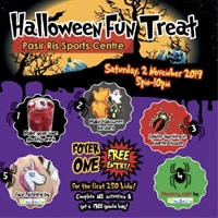 Halloween Fun Treat @ Pasir Ris Sports Centre @ Pasir Ris Sports Centre | Singapore | Singapore