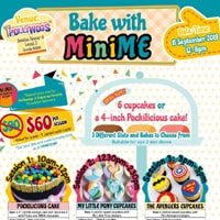 Bake With MiniMe @ The Polliwogs | Singapore | Singapore