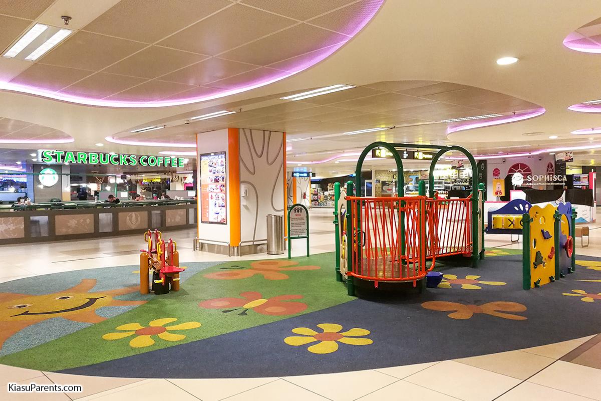 Singapore Changi Airport Terminal 3 Playground 2