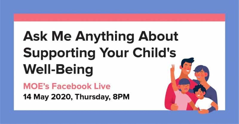 MOE Event : Ask Me Anything About Supporting Your Child's Well-Being