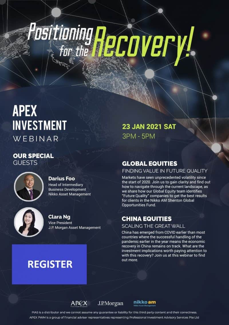 APEX WEBINAR SERIES - Positioning for the Recovery (23/01/2021)