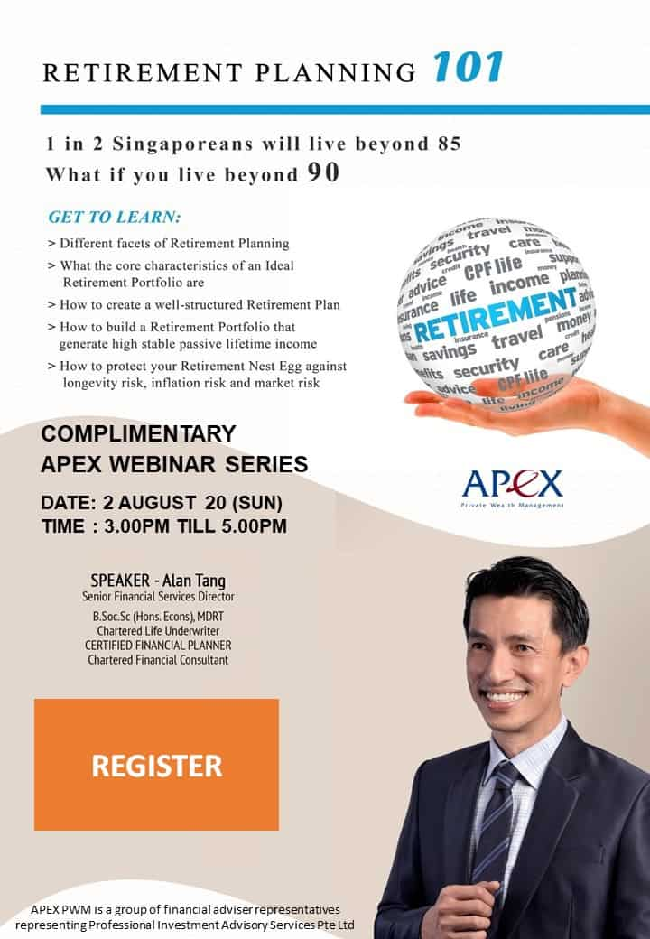 APEX WEBINAR SERIES - Retirement Planning 101 (02/8)