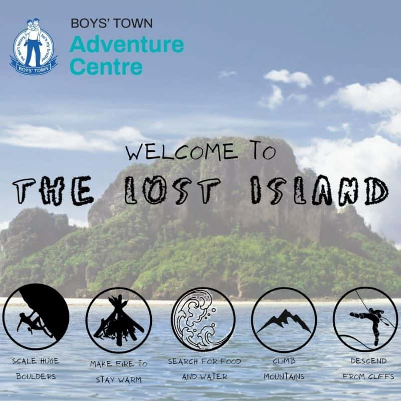 New Holiday Programme – THE LOST ISLAND