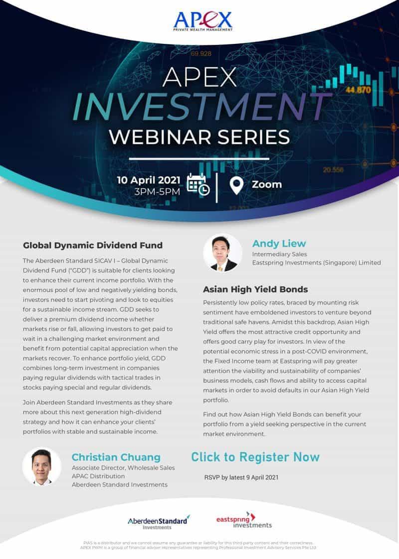 Apex Investment Webinar (10/4/2021)