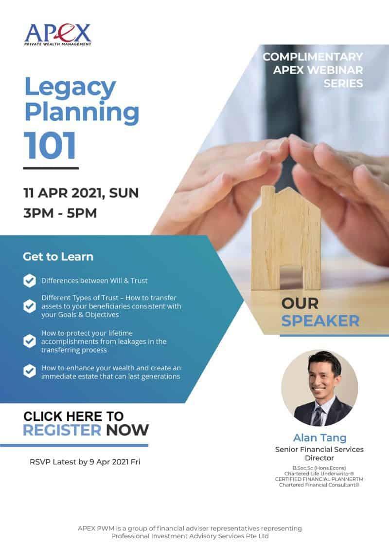 Apex Webinar - Legacy Planning 101 (11/4/2021)