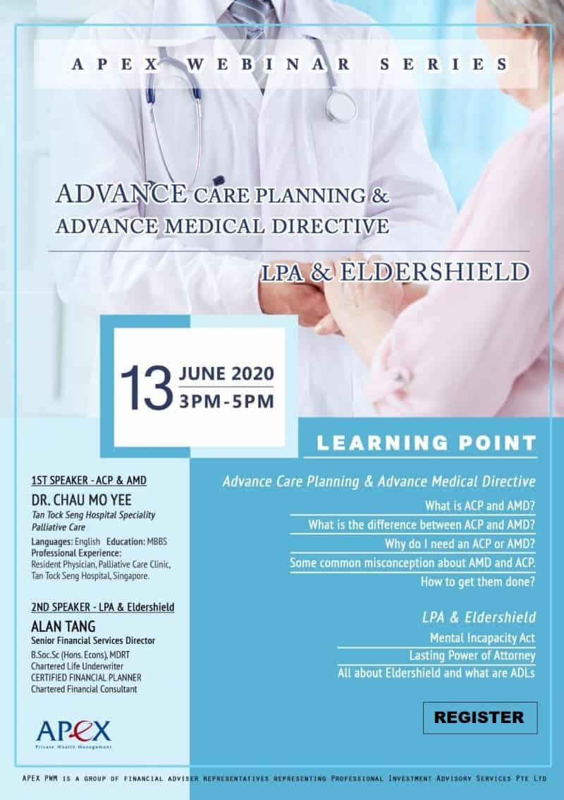 Apex Webinar Series - Advanced Care Planning & Advanced Medical Directive