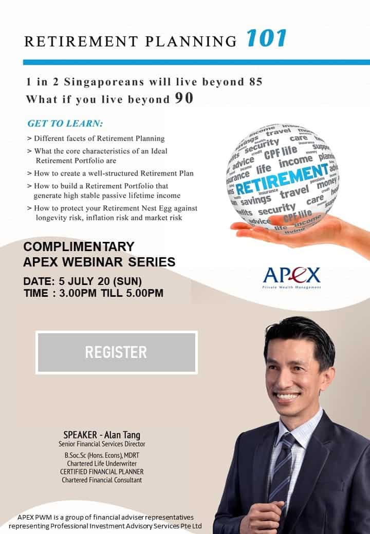 APEX WEBINAR SERIES - Retirement 101