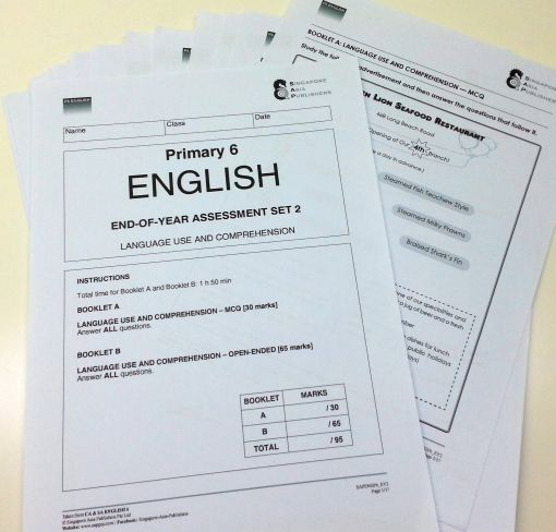 PSLE Foundation English Model Exam Papers   OpenSchoolbag Advertisements