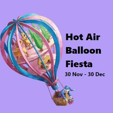 Hot Air Balloon Fiesta @ Velocity @ Velocity @ Novena Square