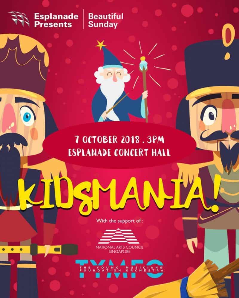Esplanade Presents: KidsMania! @ Esplanade Concert Hall | Singapore | Singapore