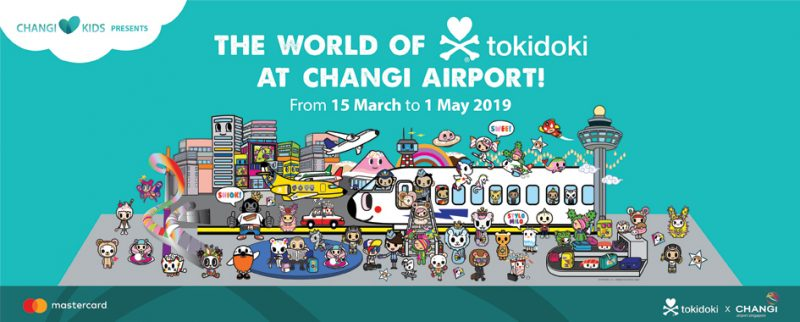 The World of tokidoki at Changi Airport @ Changi Airport Singapore | Singapore | Singapore