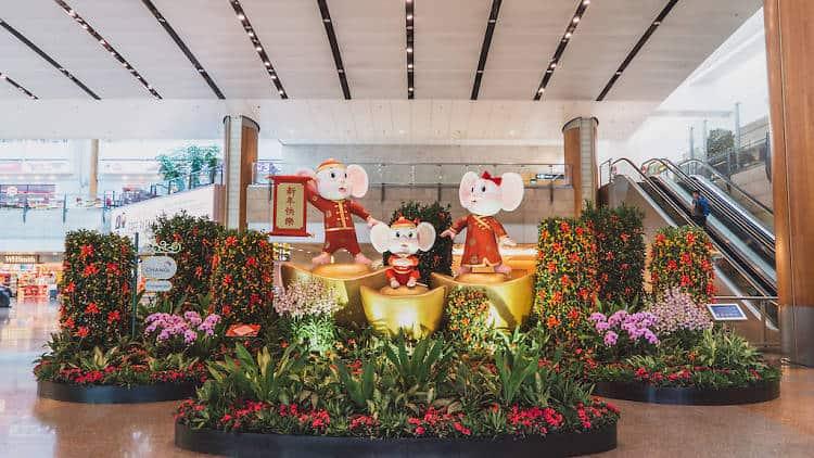 Changi Airport CNY 2020