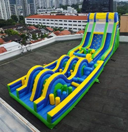 Longest Inflatabe Obstacle Course