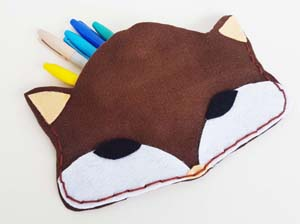 San Merinos(fox pencil case)