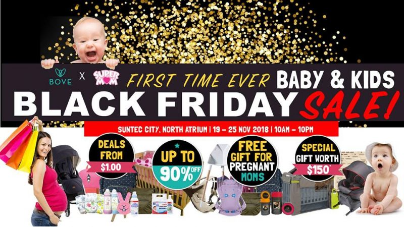 Baby & Kids Black Friday Sale @ Suntec City, North Atrium | Singapore | Singapore