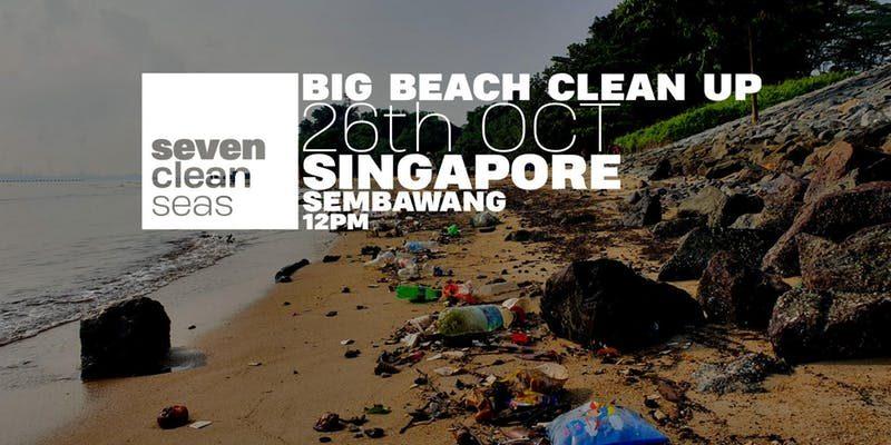 Big Beach Cleanup @ Sembawang Beach
