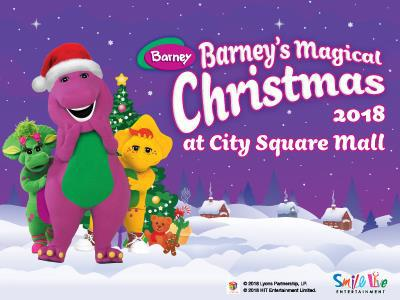 Barney's Magical Christmas 2018 at City Square Mall @ City Square Mall | Singapore | Singapore