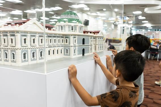 Building History: Monuments in Bricks and Blocks @ Choa Chu Kang Public Library