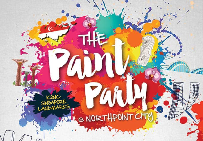 Paint Party at Northpoint City @ Northpoint City | Singapore | Singapore