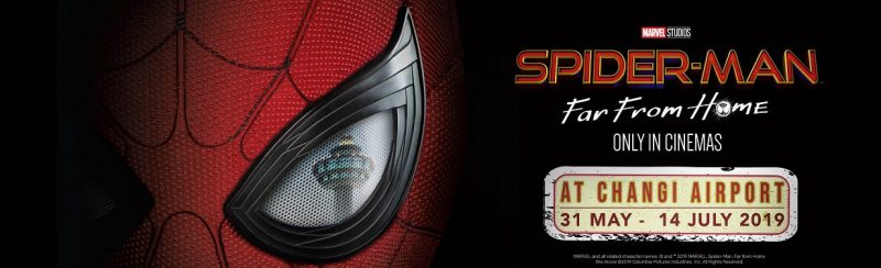 Spider-man :Far From Home Experience @ Changi Airport Singapore | Singapore | Singapore