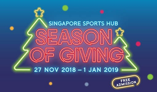 Singapore Sports Hub Season of Giving @ Singapore Sports Hub | Columbia | South Carolina | United States